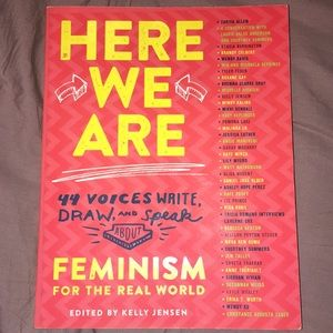 Here we are Feminism for the real world book